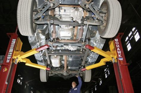 Your Vehicle's Frame & Undercarriage