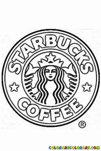 Images Of Starbucks Logo Coloring Page Summer