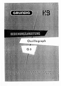 Grundig G5 Service Manual