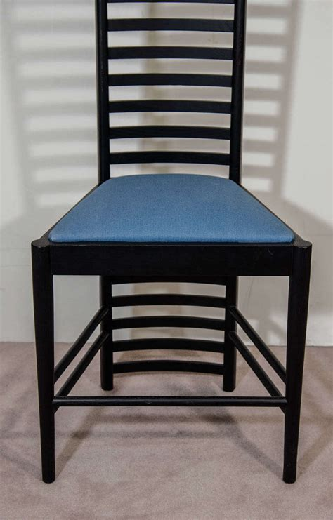 charles rennie mackintosh furniture a charles rennie mackintosh hill house high back chair by