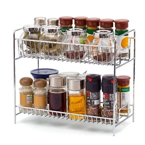 kitchen spice organizer 10 cool kitchen racks shelves to buy home decor 3085