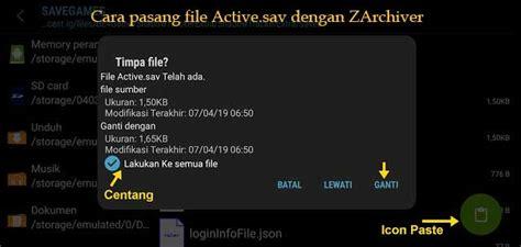 pasang file activesav pubg mobile  xiaomi redmi