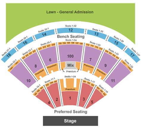 dte energy  theater seating chart  seat numbers brokeasshomecom