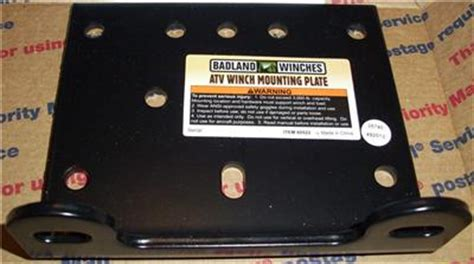 Badland Winch Mounting Bracket - Lovequilts