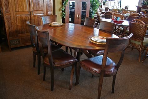 Dining Room Tables Oval Oval Dining Table Design Ideas