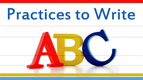 Practices To Write Abc  Abcd Writing Practice For Kids  How To Write The English Alphabet A To