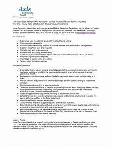 administrative assistant resume skills 10 example resume receptionist job description