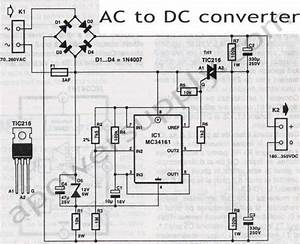 Ac To Dc Convertor Wiring Diagram