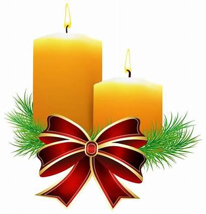 Candles Clipart Christmas Clip Transparent Candle Cliparts