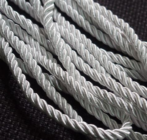 wholesale craft supplies silk rope cord strand string jewelry supplies mm silver quality