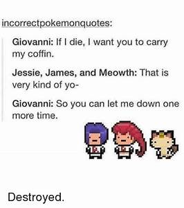 25+ Best Memes ... Pokemon Giovanni Quotes