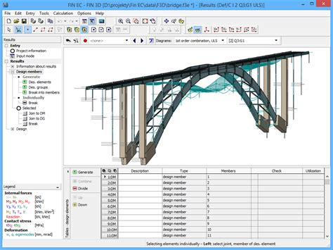 fin  structural software fin ec fine