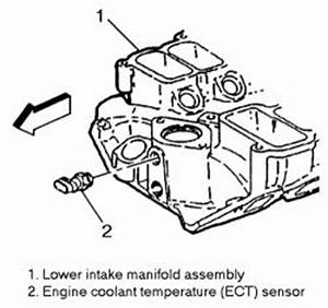 i have a 1990 gmc 1500 pickup with a 57 motor when the With fig fig 2 engine coolant temperature ect sensor wiring diagram