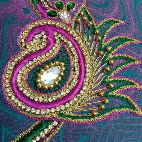 aari work blouse designs catalogue fashion beauty mehndi