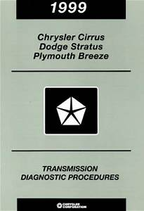 Chrysler Cirrus Dodge Stratus And Plymouth Breeze