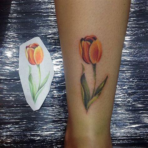 tulip tattoos meanings  ideas