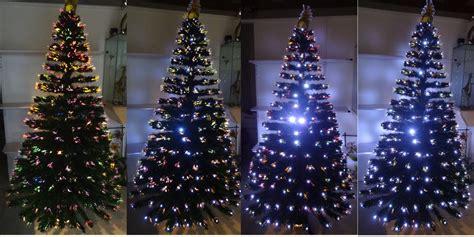 arbol navidad fibra 211 ptica y led 2 10 mtrs 480 000 en