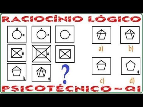 Test Logica Figure by Racioc 237 Nio L 243 Gico Sequ 234 Ncia Figura Teste Psicot 233 Cnico Qi