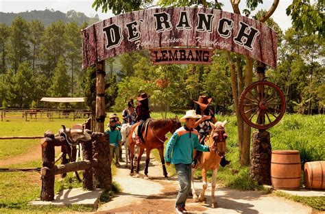 foto de ranch lembang bandung harga tiket masuk lokasi