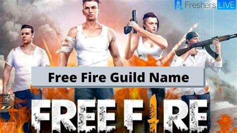 Guild name generator is a tool with the help of which you can generate numbers of stylish free fire guild name for absolutely free. 48 Best Images Free Fire Guild Name App - Free Fire Names ...