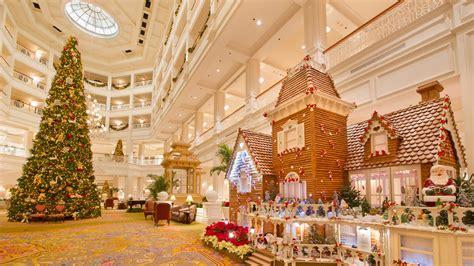 fantastical gingerbread displays decorate  walt disney