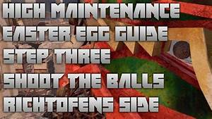 Black Ops 2 Zombies : High Maintenance Easter Egg On Die ...