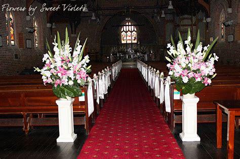 church flower arrangements  weddings sydney turrumurra