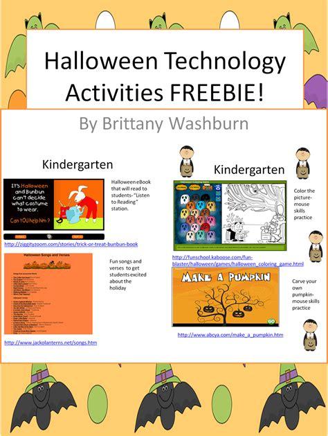 Free Halloween Computer Activities!  Computer Lab  Lesson Plan Ideas  Pinterest Activities