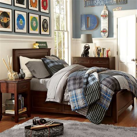 teen boy bedroom ideas hton storage bed pbteen 17479