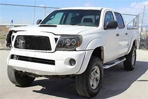 Buy Used 2005 Toyota Tacoma Double Cab 4wd Damaged Salvage