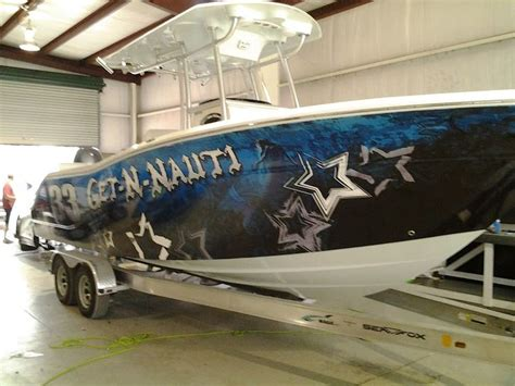 Fishing Boat Graphics Wrap by Boat Wrap Graphics Fishing Boats Pinterest