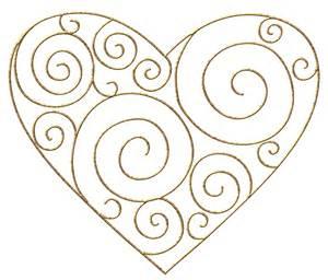 Gold Heart Clip Art Transparent