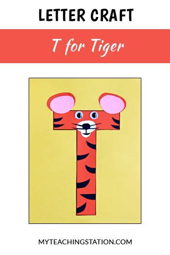 letter  craft tiger letter  crafts letter  crafts