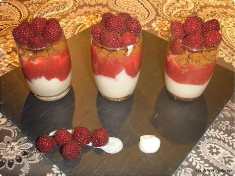 verrine fromage blanc framboises au coulis de fraise les d 233 lices de