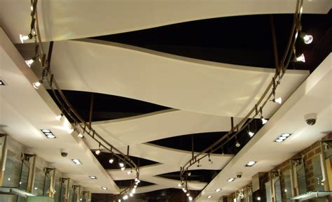 Curved Ceiling Track by Retail Store Ceiling Panels Covent Garden Architen Landrell