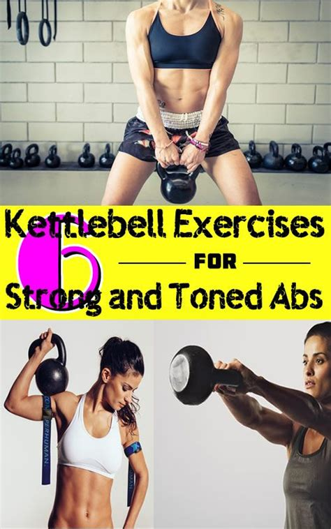 kettlebell workouts exercises abs workout kettle exercise bell strong lower strength getting body