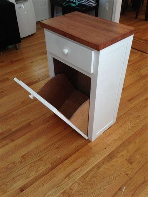kitchen cabinet garbage drawer this idea for trash can with a drawer would like it 5419