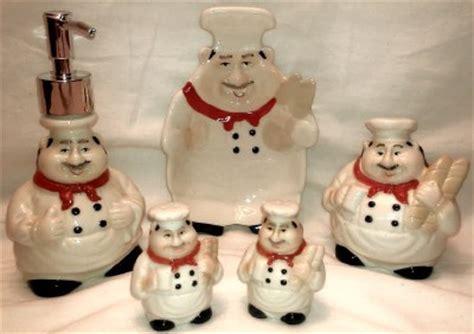 chef kitchen accessories chef italian baker statue big figurine 2136