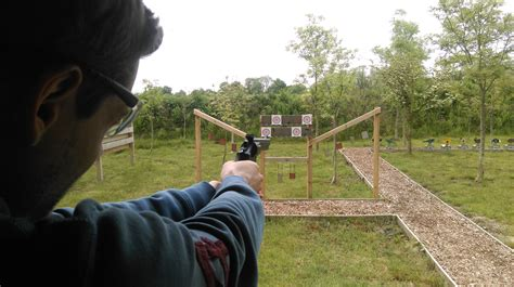 The goal is to be the last person standing. Clay Shooting, Air Rifle, Pistol Shooting Experience - Field Sport UK