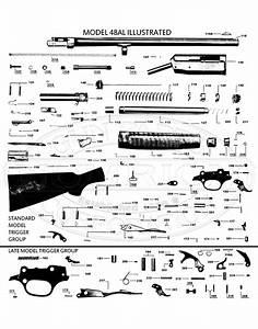 Diagram Parts Of A Semi Automatic Shotgun