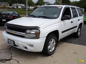 2003 Summit White Chevrolet Trailblazer Ls 4x4  30280959