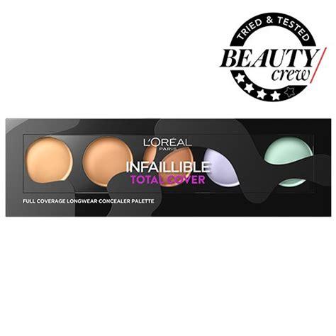 L Oreal Infallible Total Cover Concealer Palette How To by L Or 233 Al Paris Infallible Total Cover Concealer Palette