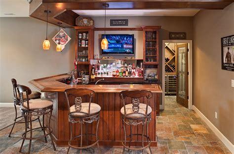 Basement Bar Design by 27 Basement Bars That Bring Home The Times