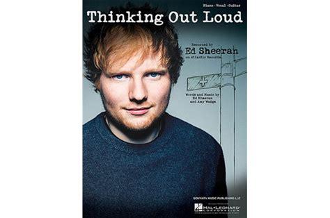 Ed Sheeran Piano / Vocal Sheet Music