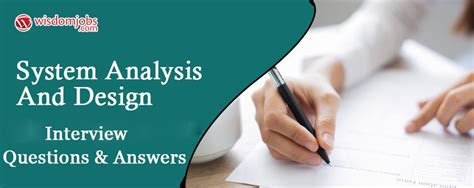 top  system analysis  design interview questions