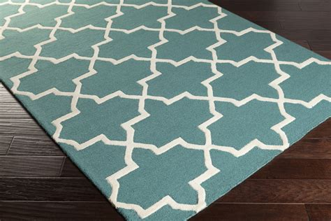 teal area rug artistic weavers pollack keely awdn2027 teal white area rug