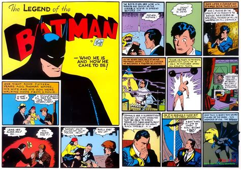 batman origin story original text university