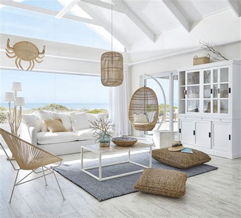 cuscini maison du monde cuscino in rafia intrecciato 45x45 maisons du monde