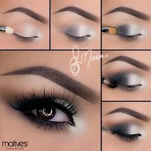 Silver smokey eye   Prom   Pinterest   Silver Smokey Eye ...