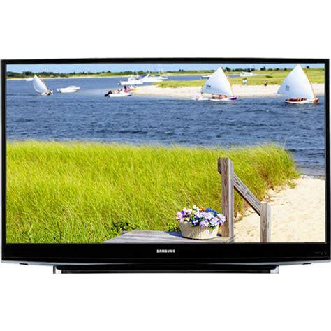 samsung dlp l samsung hl t5076s 50 quot widescreen dlp hdtv hl t5076s b h